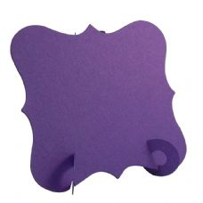24 x Purple Elegant Place Cards, Perfect for Stylish Weddings & Parties. Tableware UK Card Crafts